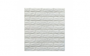 5 x Tapet autoadeziv caramizi albe