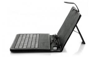 Super oferta: Husa cu tastatura pentru tableta 7 inch cu inchidere magnetica, la 38 RON in loc de 100 RON. Produs nou