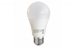 Bec LED cu lumina adaptabila, model glob