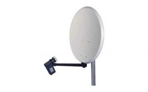 Antena satelit 80 cm cu lnb 4 iesiri