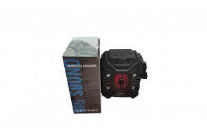 Boxa portabila bluetooth 1222 + microfon