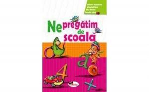 Ne pregatim de scoala, autor Alice Nichita, Stefania Antonovici, M. Mitroi, C. Jalba