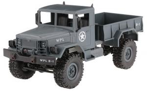Camion Militar cu Telecomanda WPL B-14 1:16 4x4 2.4GHz RTR - albastru