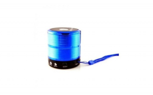 Boxa Portabila  Mica Bluetooth Soundvox WS-887, ETH i173 cu microfon incorporat;Albastru