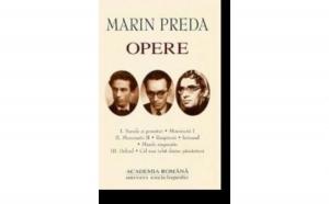 Marin Preda Opere vol IV, autor Marin Preda