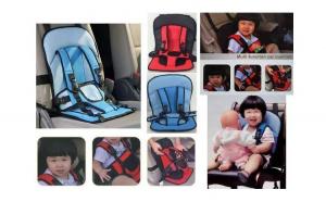 Scaunel auto pentru copii, material rezistent la apa, compact, diverse culori