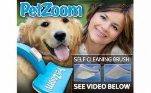 Pet Zoom pentru periat si masaj