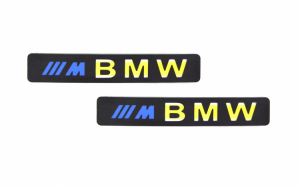Set 2x Ornament prag auto cu iluminare led bmw