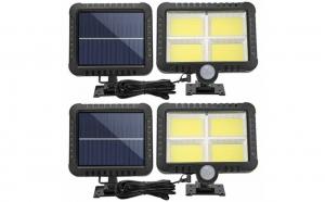 Set 2 lampi solare 128 LED