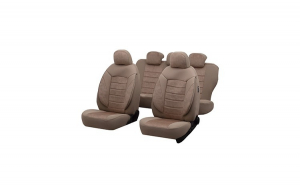 Huse Scaune Auto SEAT CORDOBA (1996-2009) Diamond Bej