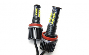 Led marker H8 128W Can Bus cu leduri Cree BMW E90/E91 seria 3  LCI (w/HID option) > 2009 to 2012