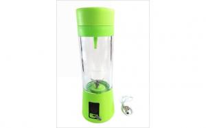 Blender portabil cu acumulator si alimentare prin USB HM-03 Verde