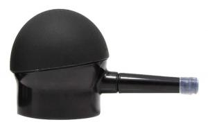 Aplicator fibre de par, SEVICH, negru