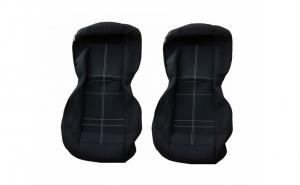 Set huse scaune auto fata ( 1+1 )