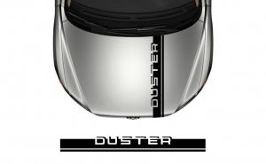Sticker Capota Duster, Negru