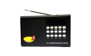 Radio FM, mp3, cu acumulator