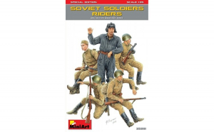 1:35 Soviet Soldiers Riders, Special