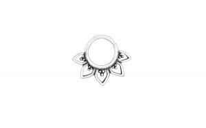 Piercing  nas din Argint, Bali, Silver, A4S39069