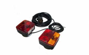 Set de lampi cu magnet pentru remorca