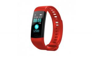 Bratara Smart Fitness Sport Y5 Rosu