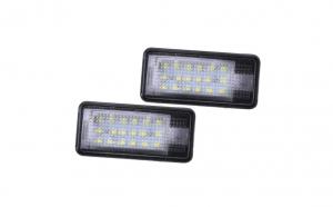 Set Lampi Iluminare Numar LED pentru Audi A3 A4 A6 A8 Q7