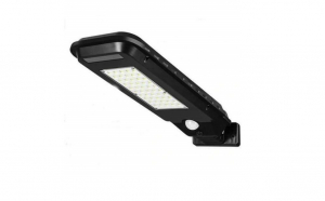 Lampa solara  LED, senzor de miscare, rezistenta la apa