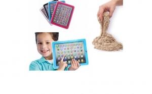 Tableta multifunctionala Learning Computer Y PAD + Nisip Kinetic 1 KG