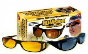Set 2 perechi ochelari de zi si de noapte HD