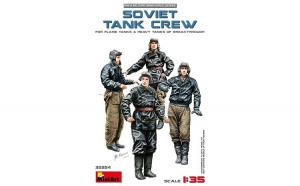 1:35 SOVIET TANK CREW (for Flame Tanks