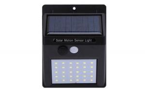 Set 3 lampi solare de perete cu senzor, Gradina