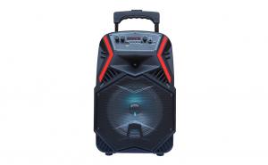 Boxa portabila bluetooth, radio Fm ,Karaoke, microfon si telecomanda, Lige B84, 48 cm inaltime