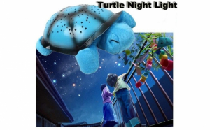 Lampa de veghe Twilight Turtle - Broscuta, 7 constelatii, USB inclus