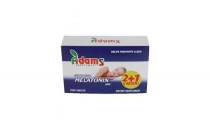 Melatonina 3mg 2+1 gratis 50cpr ADAMS