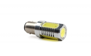 Led auto Alb BA15S High Power cu pini simetrici la 180 grade