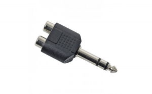 Adaptoare-Y RCA / JACK 2 x soclu RCA-6.3