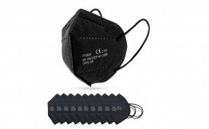 Set 10 masti de protectie FFP2 negre ambalate individual Certificate CE