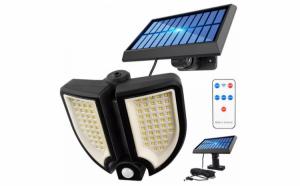 Lampa solara 90 LED, senzor de miscare