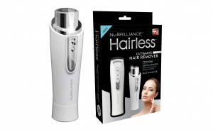 Aparat epilat facial Hairless By NuBriliance
