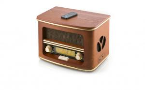 Radio Retro Vintage, Carcasa Lemn