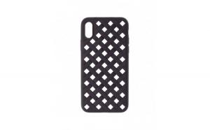 Husa iPhone X ultra slim Baseus, protectie supraincalzire, negru