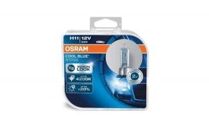 Bec pentru far Osram Cool Blue Intense H11 - 12V/55W 2 bucati