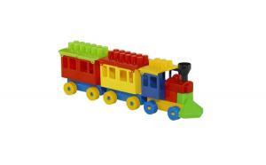 Trenulet cu cuburi
