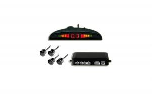 Senzori parcare pentru toate marcile auto, display digital cu led-uri si patru senzori de parcare, la doar 89 RON in loc de 191 RON