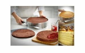 Feliator reglabil pentru blaturi de tort