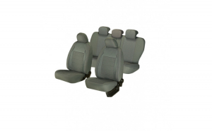 Huse scaune auto OPEL ASTRA G 1998-2009  dAL Elegance Gri,Piele ecologica + Textil
