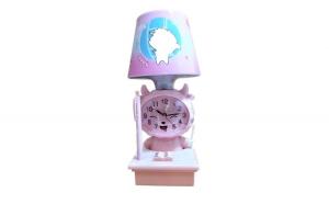 Veioza cu ceas si suport pix, Sheep, E14, 40W, 6836DX