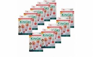 Pachet 100 de plasturi Kinoki - set complet pentru detoxifiere, pentru intreaga familie