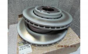 Set discuri frana Dacia Duster Originale 402060010R