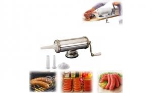 Produsul Ideal de Craciun: Masina de facut carnati 1,5 kg, la 99 RON in loc de 199 RON
