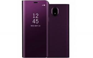 Husa Samsung Galaxy J7 2017 Flippy Flip Cover Oglinda Violet